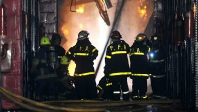Photo of DESPIDEN A BOMBEROS MUERTOS EN LA TRAGEDIA DE BARRACAS