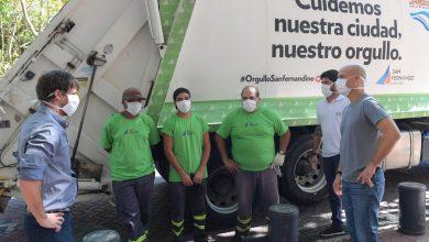 Photo of ANDREOTTI FELICITO A LOS RECOLECTORES DE RESIDUOS POR SU DESTACADO TRABAJO