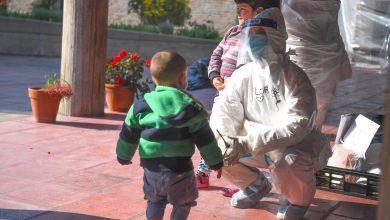 Photo of Regalos para los niños en el Centro de Aislamiento