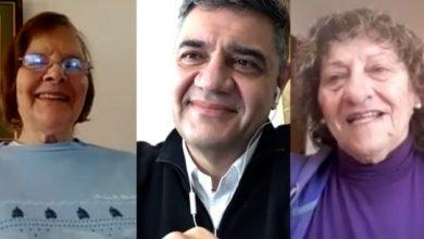 Photo of Jorge Macri celebró el Dia del Jubilado por videollamada