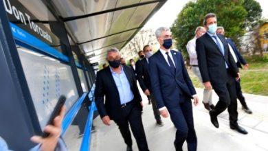 Photo of Zamora, Massa y Meoni inauguraron la nueva estación