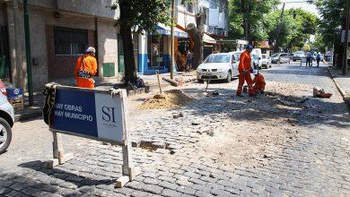 Photo of Realizan mantenimiento de calles adoquinadas