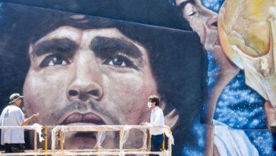 """Photo of El túnel """"Diego Maradona"""" también tendrá un mural"""