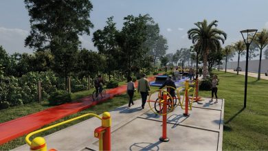Photo of Andreotti presentó el nuevo parque sobre el Arroyo Miguel Cané