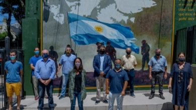 Photo of Un mural en honor a los Héroes de Malvinas