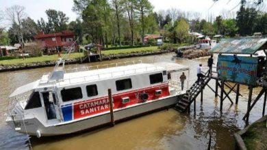 Photo of El catamarán sanitario recorre el Delta en febrero