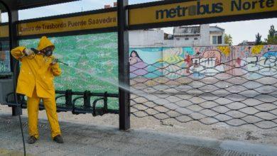 Photo of Operativo de desinfección en Puente Saavedra