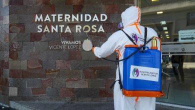 Photo of Sanitizan el entorno de la Maternidad Santa Rosa
