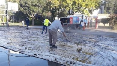 Photo of Realizan reparaciones en los polideportivos