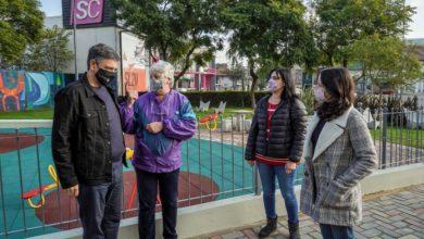 Photo of Jorge Macri y Soledad Martinez visitaron la Plaza White