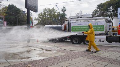 Photo of Realizan operativo de desinfección en La Lucila