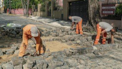 Photo of Mejoras en el empedrado del casco histórico