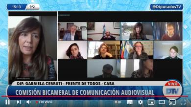 Photo of Expone en el Congreso la defensora del Público de Servicios de Comunicación Audiovisual