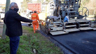 Photo of Zamora recorrió obras de asfaltado en Benavídez