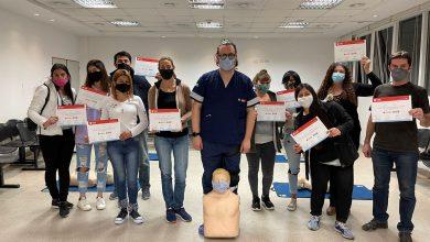 Photo of Brindan cursos de RCP en el Hospital Materno Infantil