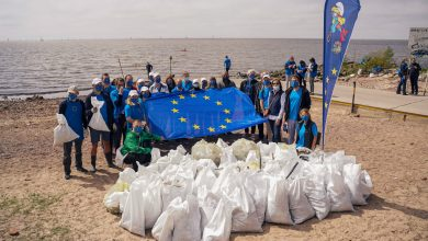 Photo of Municipio y delegación de la Unión Europea limpiaron la Costa