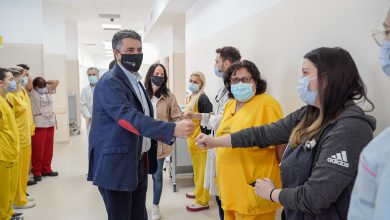 Photo of Jorge Macri visitó obras en el Hospital Houssay