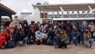 Photo of Gisela Zamora compartió un pase con mujeres por el Delta
